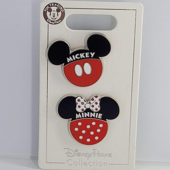 Disney authentic Mickey and Minnie pins